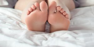 Füße kitzeln